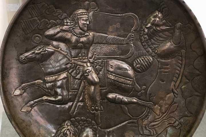 سکههایی با تصویر چهره اسکندر