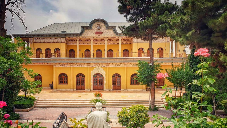 عمارت عین الدوله ؛ بنایی تاریخی با روایتی از جنگ جهانی دوم