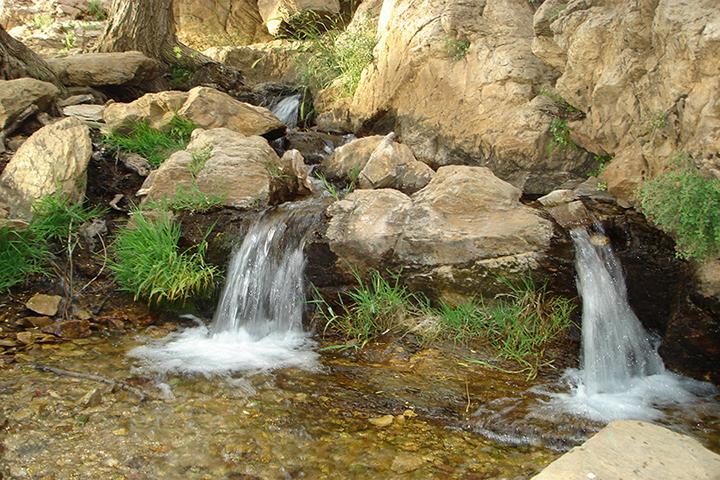 آبشار مزرعه   جاهای دیدنی اراک