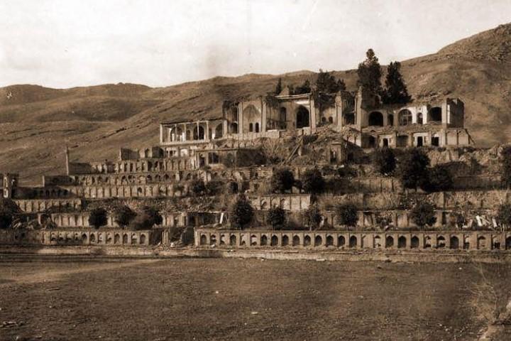 جاهای دیدنی شیراز - باغ تخت