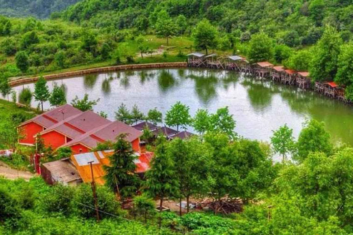 دریاچه قو روستای جواهرده