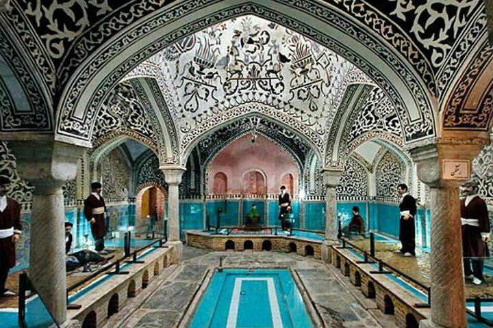 حمام حاج آقا تراب همدان