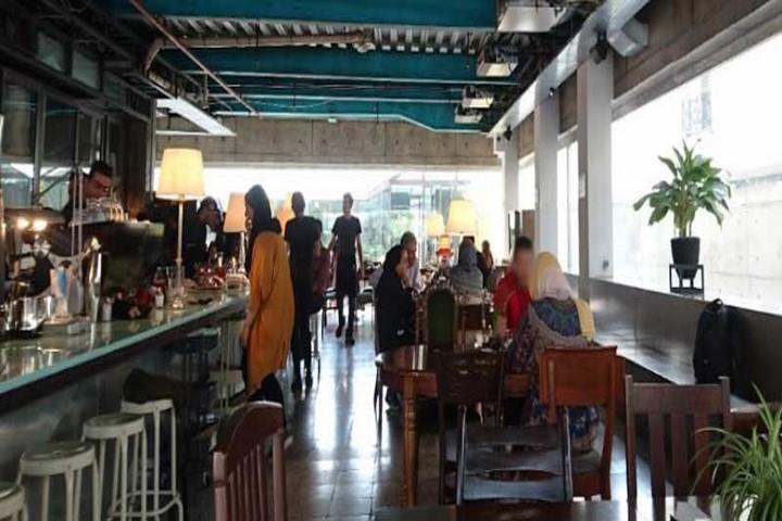 کافه های غرب تهران