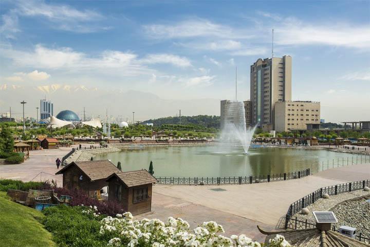 فوارههای آب | پارک آب و آتش