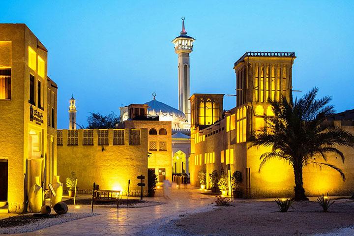 محله بستکیه | جاهای دیدنی دبی