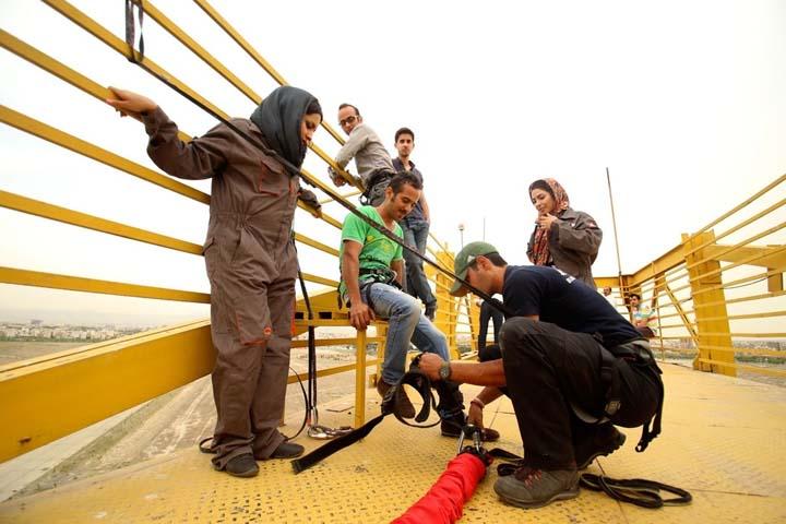 بانجی جامپینگ در ایران