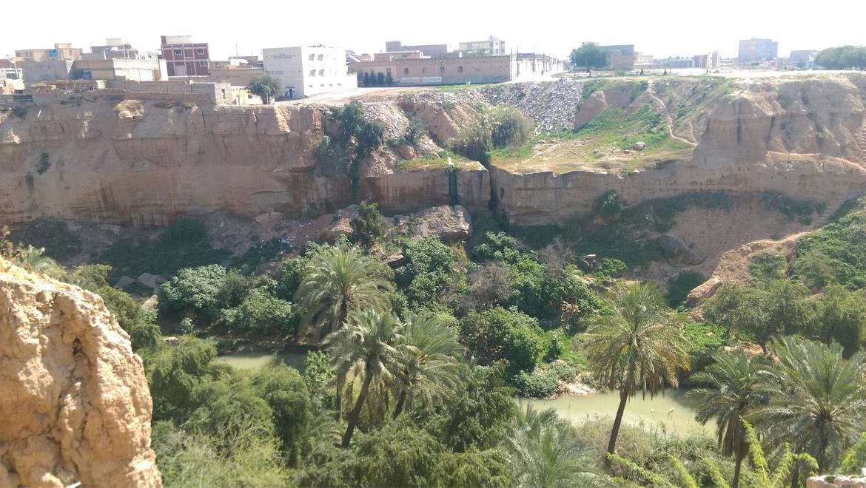باغ خان شوشتر یک جاذبه سرسبز تاریخی