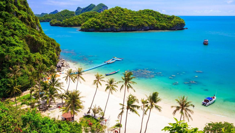 جزیره سامویی ، بهشت استوایی در خلیج تایلند