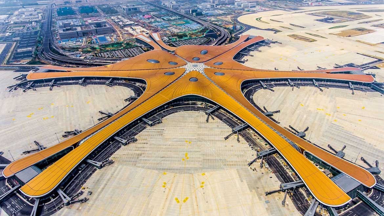 فرودگاه بین المللی داکسینگ پکن ، نمادی از توانمندیهای چین در زمینه گردشگری