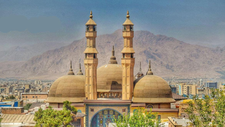 مسجد جامع شافعی کرمانشاه ؛ یک شاهکار معماری در غرب ایران
