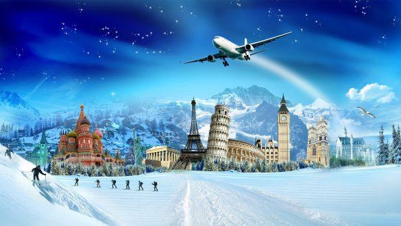 کاور مقاصد سفر خارجی در زمستان