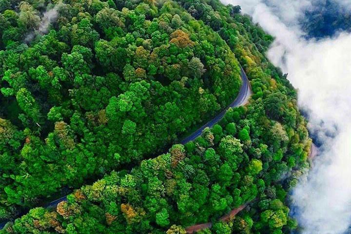 جاده اسالم به خلخال | مقاصد سفر داخلی در پاییز