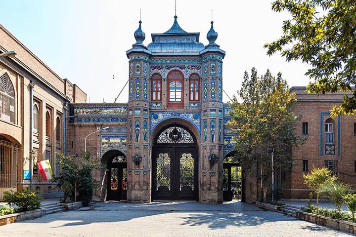 سردر باغ ملی | میدان مشق