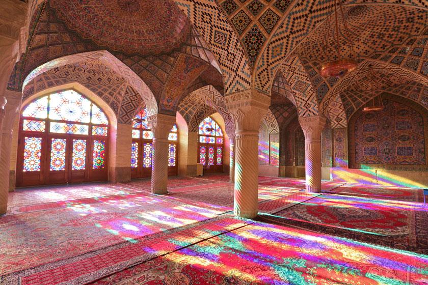 شبستانهای مسجد نصیرالملک