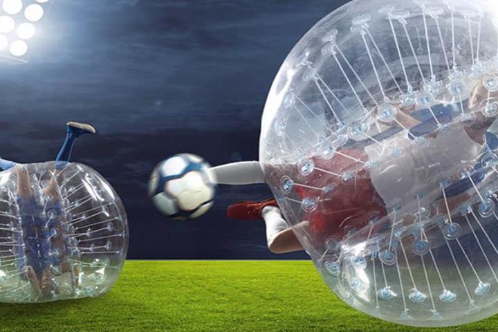 فوتبال حبابی سافاری در کیش
