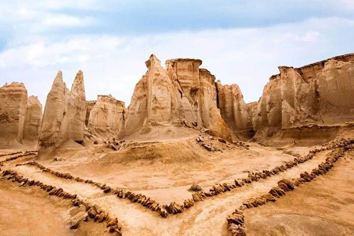 دره ستارگان قشم | مقاصد سفر داخلی در زمستان