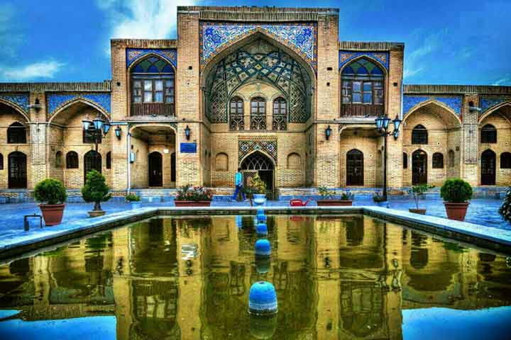 مسجد عمادالدوله   جاهای دیدنی کرمانشاه
