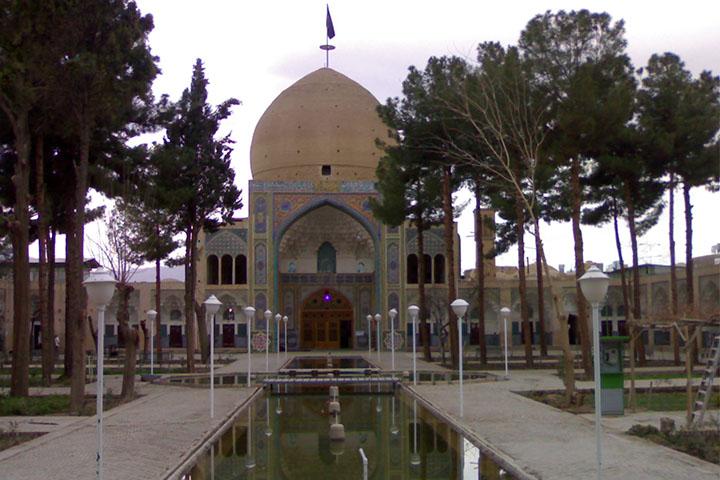 مسجد و مدرسه سلطانی | بازار کاشان