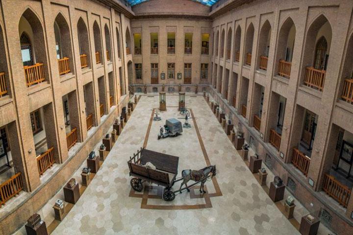 موزه ارتباطات | میدان مشق