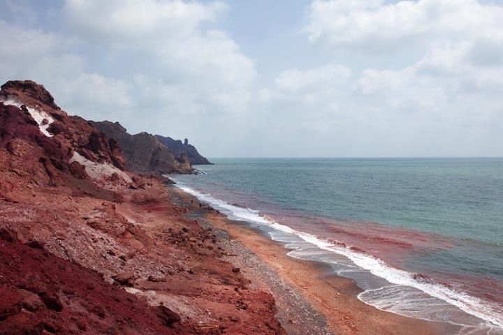 جزیره هرمز   مقاصد سفر داخلی در زمستان