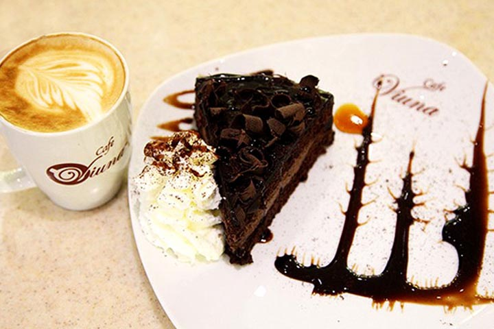 کیک های کافه ویونا