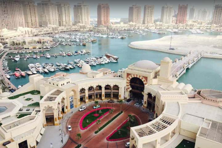 جزیره مروارید قطر