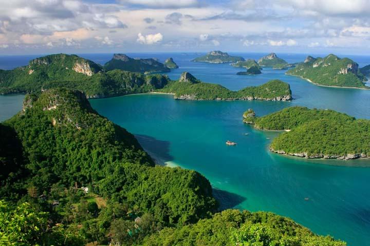 پارک ملی دریایی آنگ تونگ