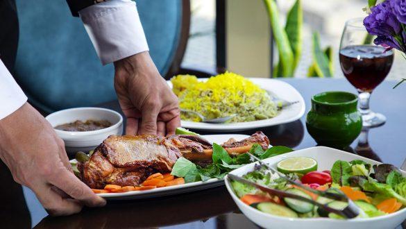 کاور رستوران های ایرانی دبی