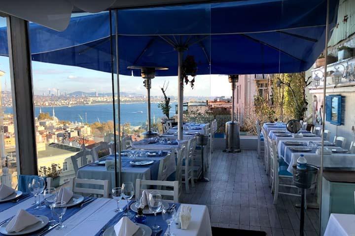 رستوران دریایی الئوس |رستوران های خیابان استقلال استانبول