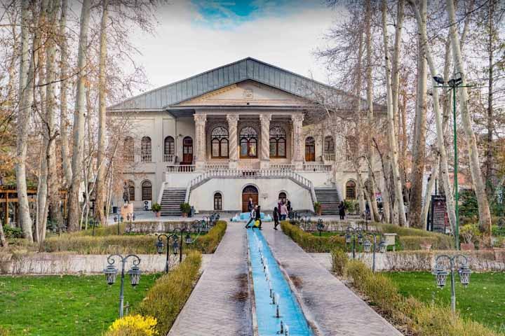 باغ فردوس | جاهای دیدنی تهران در زمستان
