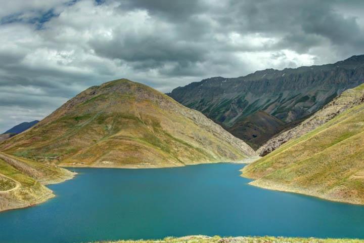 دریاچه تار | جاهای دیدنی تهران در زمستان