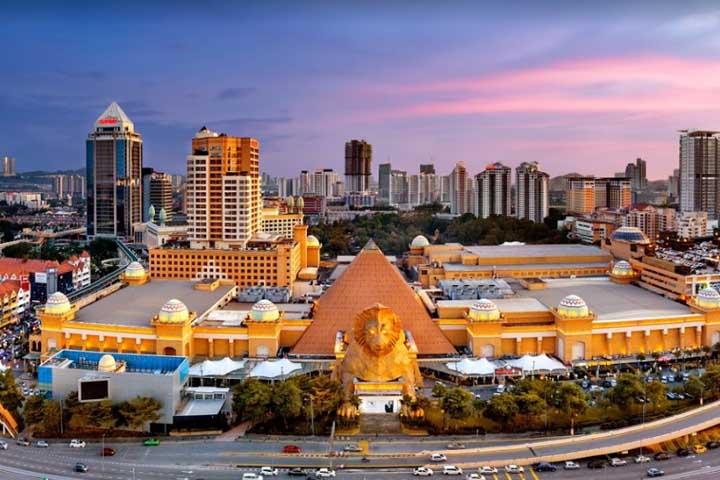 مرکز خرید سان وی پیرامید | مراکز خرید مالزی