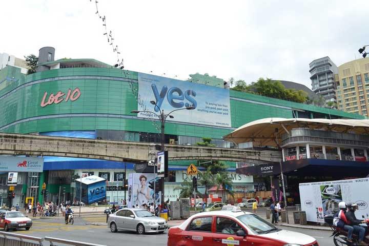 مرکز خرید لات تِن | مراکز خرید مالزی