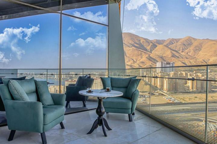 هتل ایران مال تهران