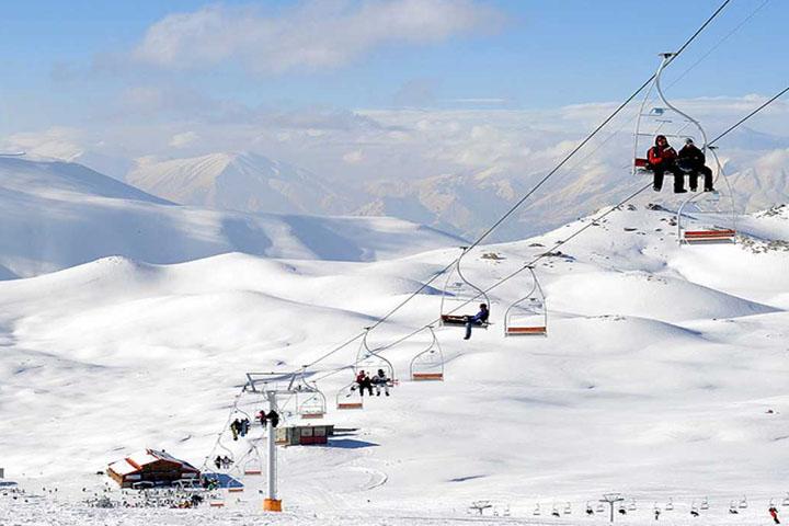 پیست اسکی آبعلی | جاهای دیدنی تهران در زمستان