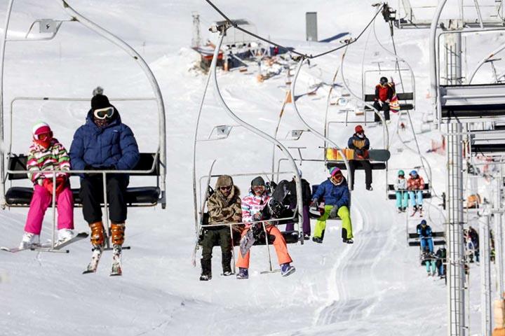 پیست اسکی توچال | جاهای دیدنی تهران در زمستان