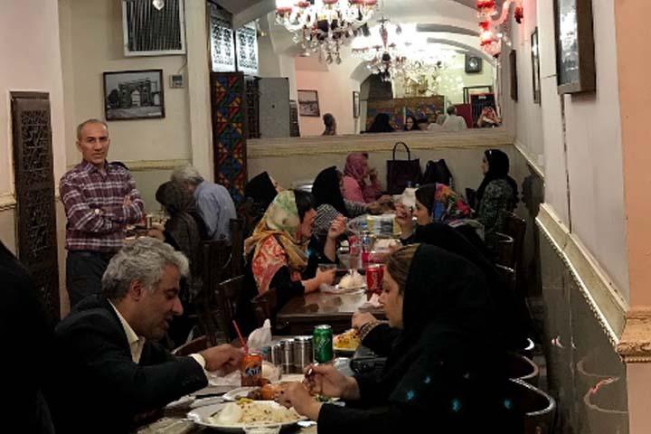 کباب سرای نایب |رستوران های بازار تهران