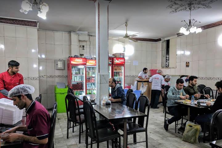 رستوران حاج مرشد | رستوران های بازار تهران