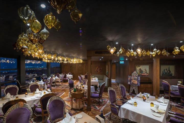 کافه رستوران زعفران | رستوران های ایرانی استانبول