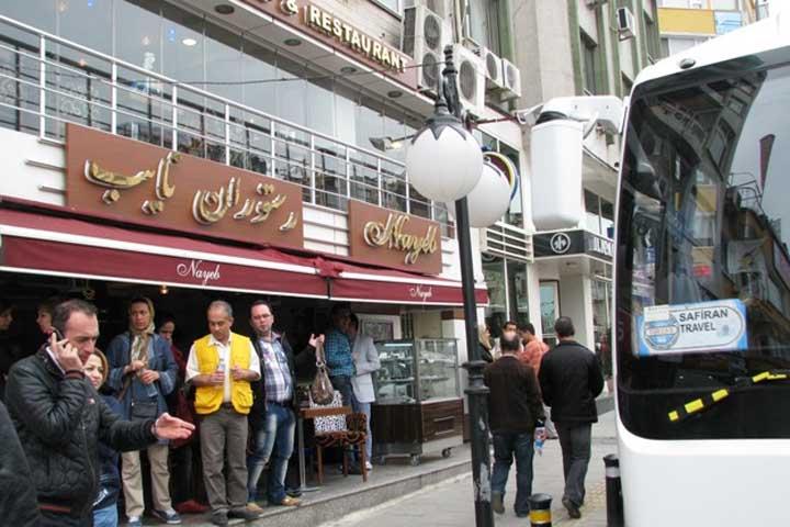 رستوران نایب| رستوران های ایرانی استانبول