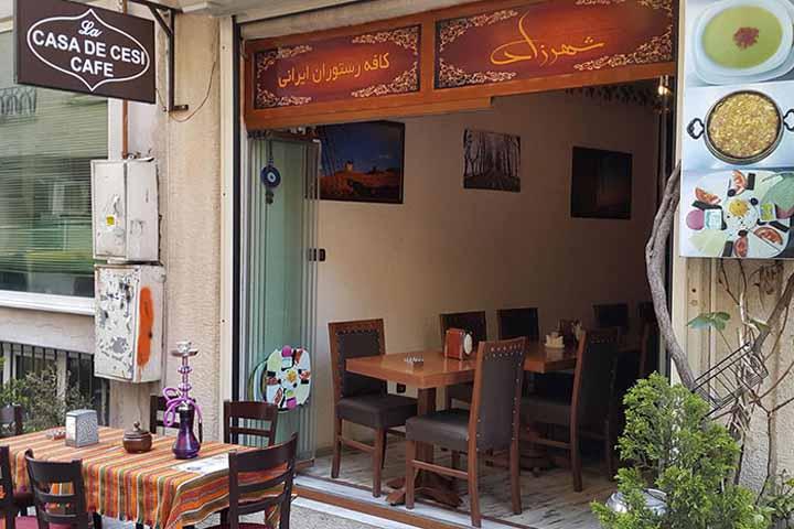 رستوران شهرزاد | رستوران های ایرانی استانبول