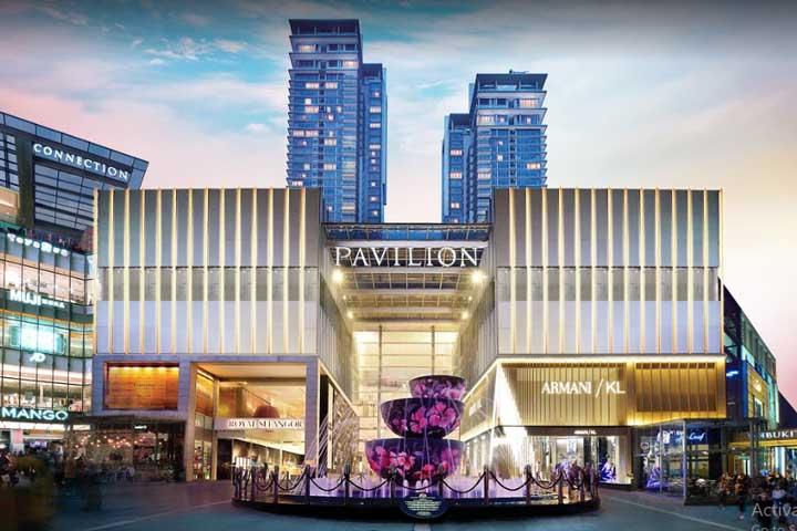 مرکز خرید پاویلیون | مراکز خرید مالزی