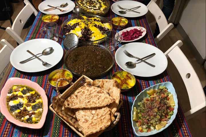 رستوران گلستان ایرانیان | رستوران های ایرانی استانبول