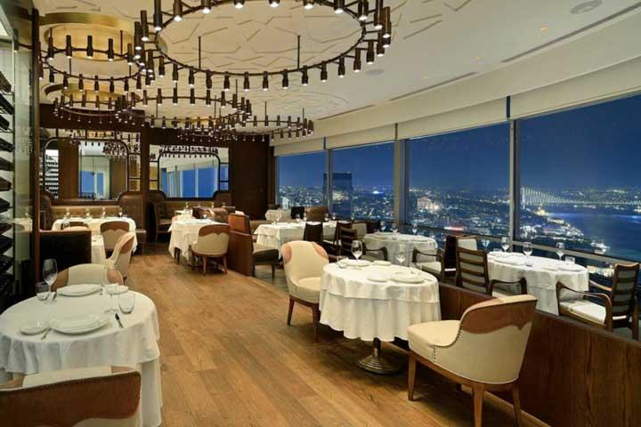 رستوران رایکا استانبول | رستوران های میدان تکسیم