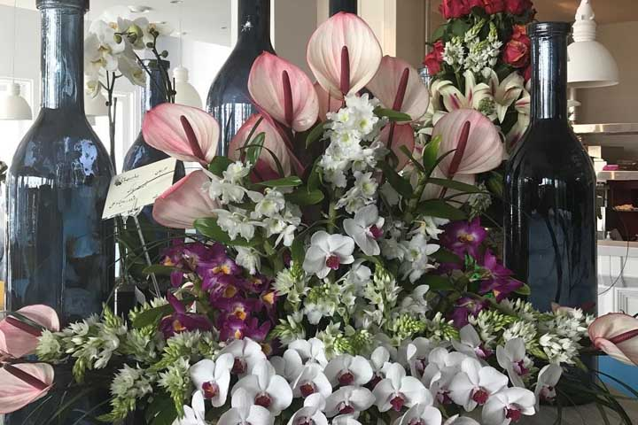 گل فروشی خوشه