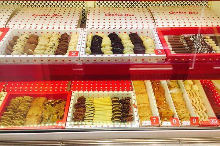 شیرینی کوکی باکس | بهترین شیرینی فروشیهای تهران