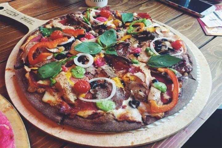 بهترین پیتزاهای تهران | پیتزا چارچیز