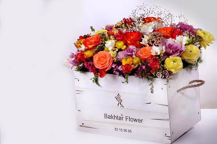 گل فروشی باختر