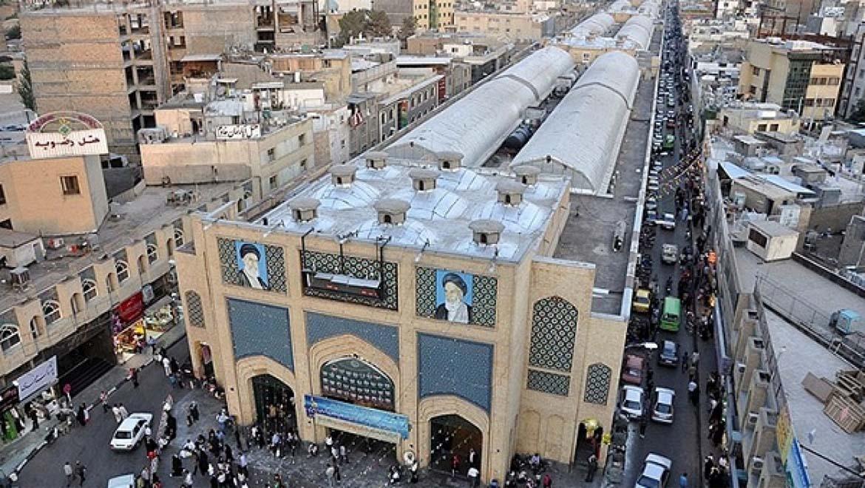 بازار رضا مشهد ، حس جریان زندگی در بازاری سنتی