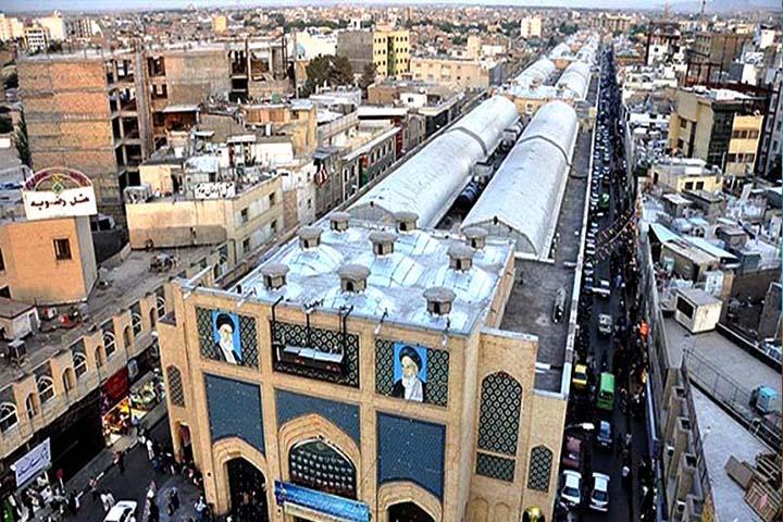 معماری بازار رضا مشهد